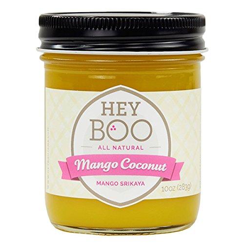 Mango Coconut Jam by Hey Boo - Delicious - Dairy Free - No Corn Syrup - Non GMO - Made in USA, 10 oz