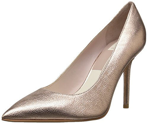 Dolce Vita Women's MIKA Pump, Rose Gold Leather, 7.5 Medium US