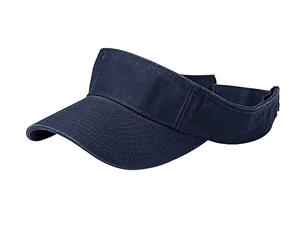 TOP HEADWEAR Pro Style Cotton Twill Washed Visor
