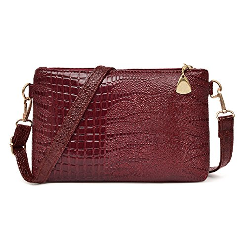 Yuan Clearance Handbag Crocodile Pattern Shoulder Bag ...