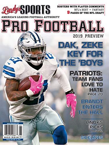 Dallas Pro Football - Lindy's 2019 Pro Football Preview - Dallas Cowboys