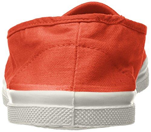 Corail Zapatillas para Bensimon Tennis Naranja Mujer Elastique x81EY