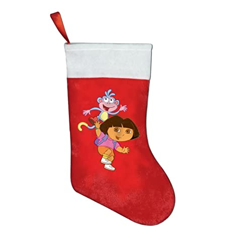 Amazoncom Christmas Stockings Dora The Explorer 4 Compact Kids