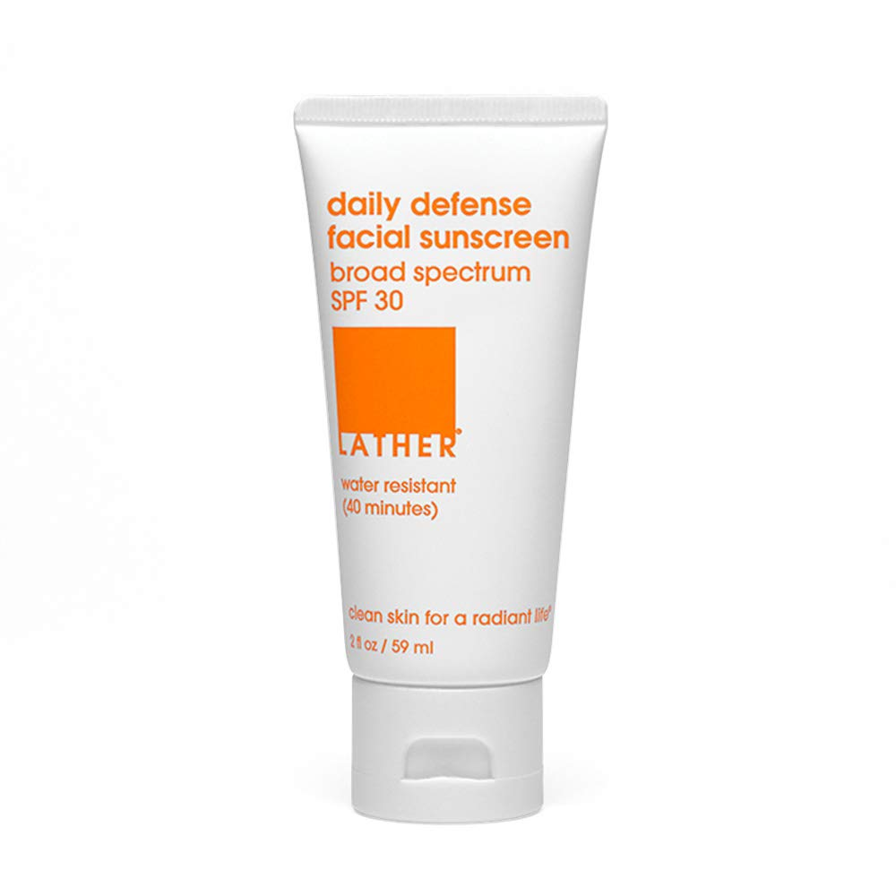 The Daily Defense Facial Sunscreen SPF 30 2oz travel product recommended by Colleen Johnson on Pretty Progressive.
