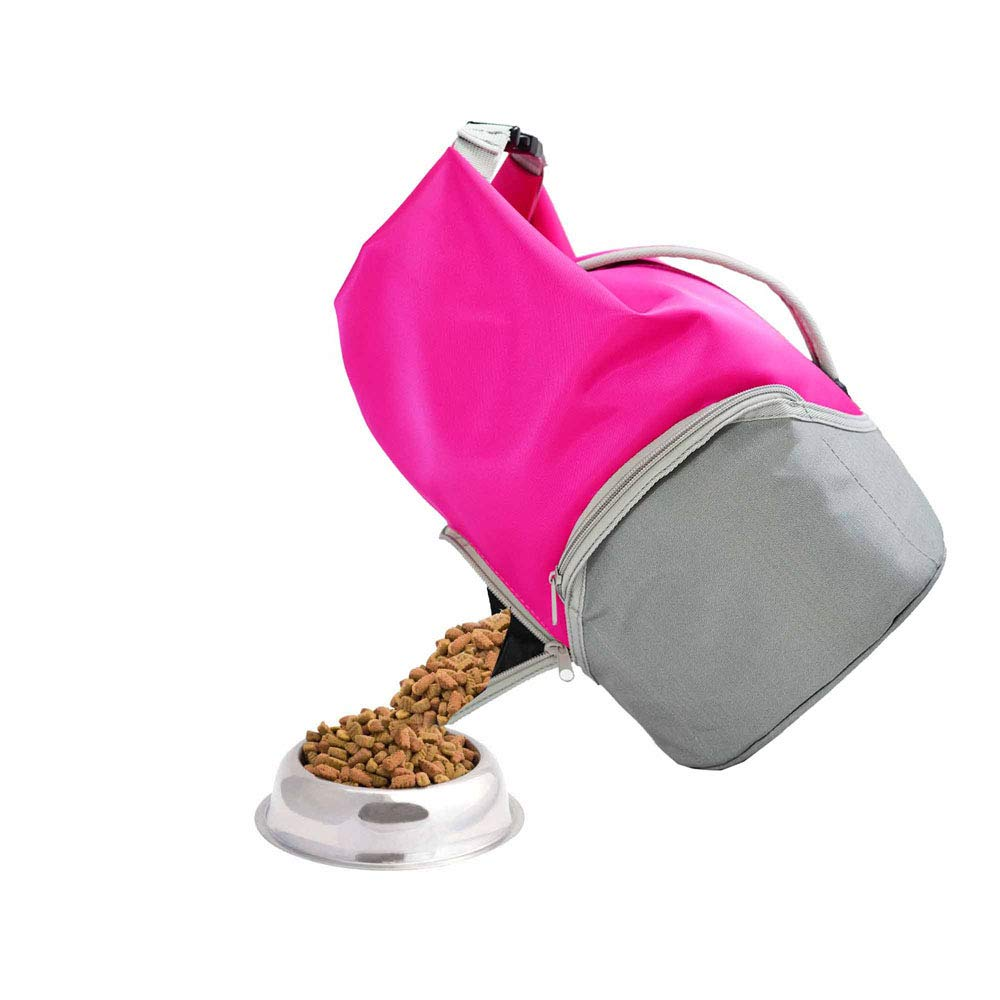 4d5ec767e37f Amazon.com : 20L Pet Food Carrier Bag, Portable Collapsible Travel ...