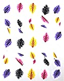 Good Art Tips Water Transfer Decals Nail Stickers Color Code01