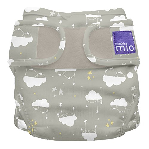 Bambino Mio, Miosoft Cloth Diaper Cover, Cloud Nine, Size 1 (<21lbs)