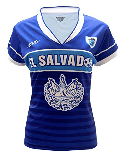Arza Sports El Salvador Slim Women Soccer Jersey