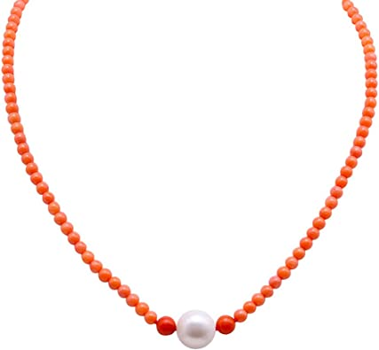 """Cultured Round Fresh Water Natural White Pearl Size 5.5mm Bead Strand 16/"""""""