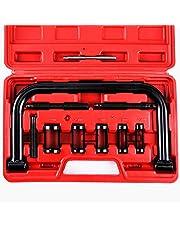 Orion Motor Tech Lot de 10 compresseurs de ressort de soupape solide pour voiture, moto, ATV Moteur HD
