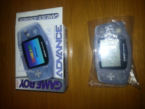 Game Boy Advance Console in Glacier