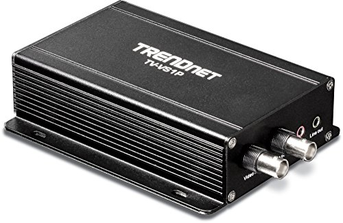 TRENDnet Single Channel PoE Analog to IP Video Encoder (Convert Mpeg Video)
