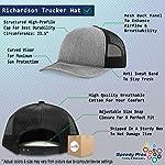 Richardson Structured Mesh Trucker Hat Dog Border Collie Lifeline A Embroidery 7