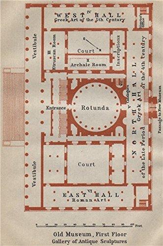 Amazoncom ALTESOLD MUSEUM Berlin St Floor Plan Gallery Of - Vintage map berlin