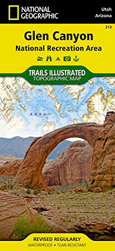 Glen Canyon National Recreation Area: Utah / Arizona, USA (Trails Illustrated Map # - Shopping Indian Lake