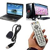HDE Wireless USB Plug and Play Multimedia Remote Control and Mouse for Kodi XBMC Raspberry Pi OPENELEC Windows 7 8