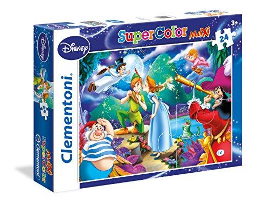 Clementoni Peter Pan Supercolor Puzzle 24 Pezzi 24467