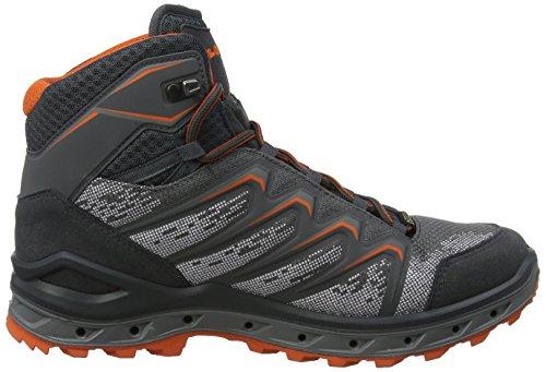 De Mid graphit 9728 Randonnée Aerox Homme Hautes Gris orange Gtx Chaussures Lowa qIwf4