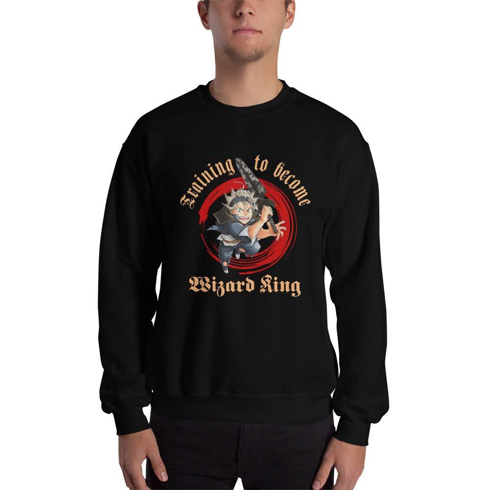 Asta Black Clover Anime Training to Become Wizard King Men Women Unisex Sweatshirt