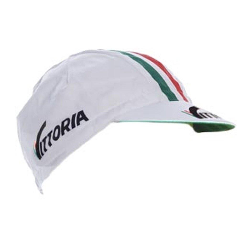 Ciclo gorra del equipo fixie Vintage Retro blanco Vittoria: Amazon ...