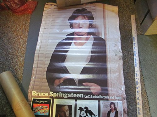 - Bruce Springsteen original Columbia promo poster Darkness On The Edge of Town