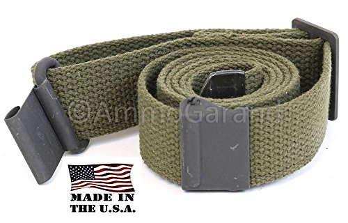 AmmoGarand Rifle Sling M1 Garand USGI Pattern Two Point OD Cotton Web Made in the USA