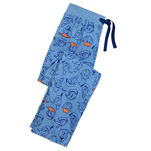 Disney Donald Duck Lounge Pants for Men Size Mens M Multi (Duck Disney Store Donald)