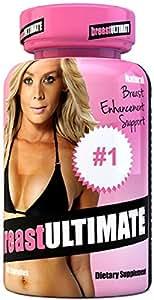 breastULTIMATE Female Breast and Butt Enhancement Formula All Natural Enlargement Pills 60 Capsules