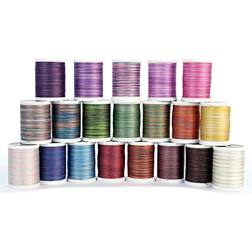 Blendables Cotton Thread 500 Yards 20 Pack by Sulky