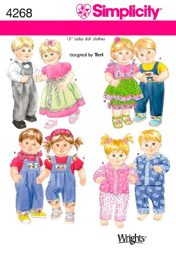 Simplicity Designed by Teri Pattern 4268 Baby Boy and Girl 15