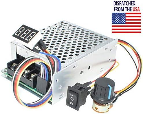 DC 12V 24V 36V 40A PWM Motor Speed Controller CW CCW Revesible Switch Regulator