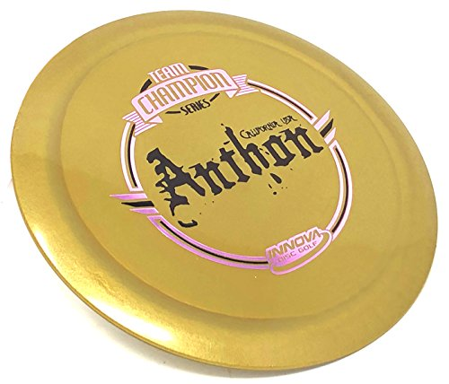 Innova Discs Golf Tour Series Josh Anthon Shimmer Star Destroyer Disc Golf Distance Driver Limited Edition (Gold)