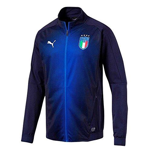 PUMA Italy Stadium Jacket 2018/2019 - Navy - M ()