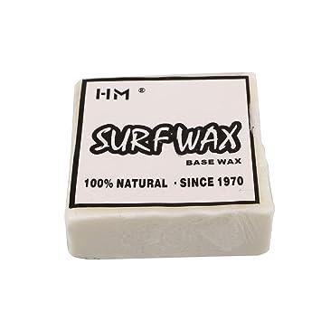 Mingxiao Cera Blanca para Tablas de Surf Cera Antideslizante Agua Caliente waterecofriendlyprofessional Surf endurecido formulaciones