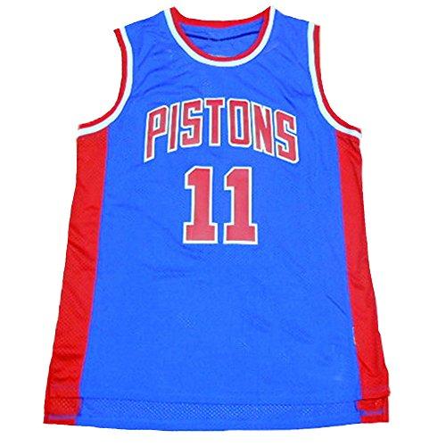 No.11 Thomas Jersey Basketball Jersey Sports Embroidery Men's Jersey Blue M