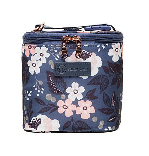 Sarah Wells Cold Gold Breastmilk Cooler Bag with Ice Pack (Le Floral) by Sarah Wells