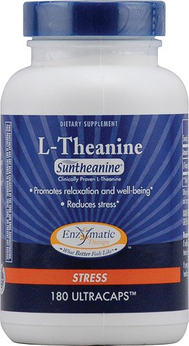 Enzymatic Therapy L Theanine Vegetarian Capsules product image