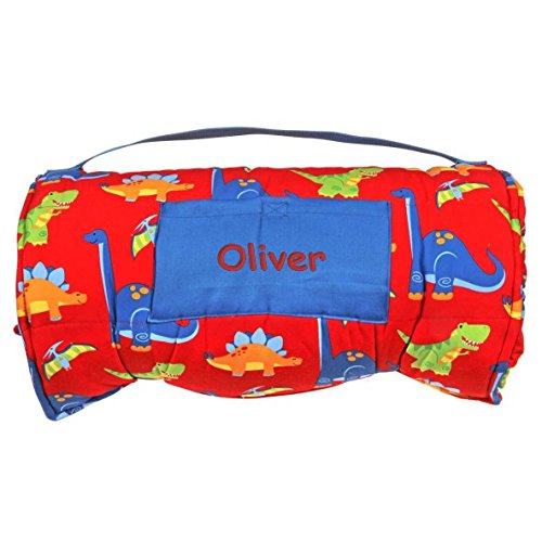 DIBSIES Personalization Station Personalized Toddler & Preschool Nap Mats - Dinosaurs