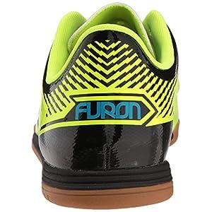 New Balance Men's Furon 3.0 Dispatch In Soccer Shoe, Hi Lite/Maldives, 10 2E US