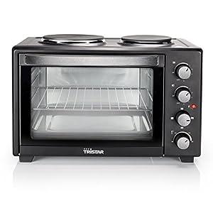 Tristar OV-1442 Ofen mit zwei integrierten Kochplatten Inhalt 35 l - 3200 W