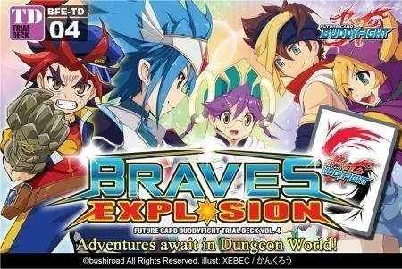 mas preferencial Future Coched BuddyFight BFE-TD04 Braves Braves Braves Explosion Trial Deck by Future Coched Buddy Fight  gran selección y entrega rápida