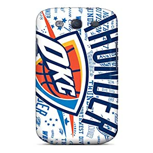 Premium [Rmz2871neXC]oklahoma City Thunder Case For Galaxy S3- Eco-friendly Packaging