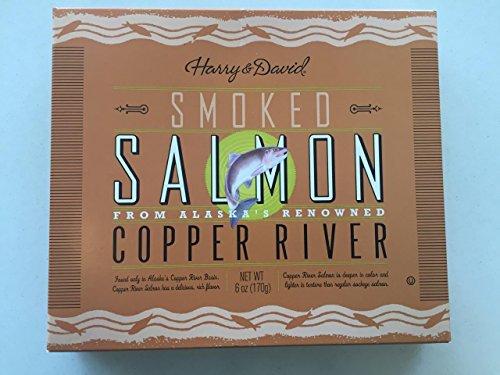 Harry & David, Smoked Salmon, Copper River, 6 - Salmon River Copper