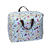 uxcell Animal Pattern Home Bed Sheets Quilt Duvet Storage Bag Container 60cm x 47cm Colorful