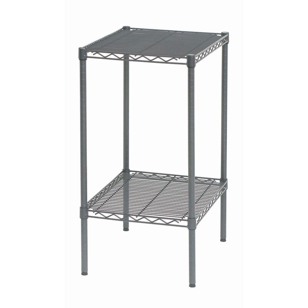 HUBERT Flint Steel Wire Shelf Pack - 24inch L x 24inch D x 1 1/2inch H