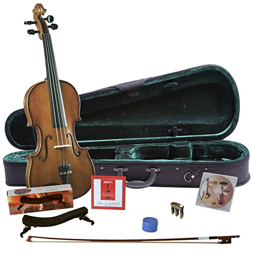 Cremona SV-130BUN1 4/4 Size Violin Bundle Tone Finger Ease Guitar String