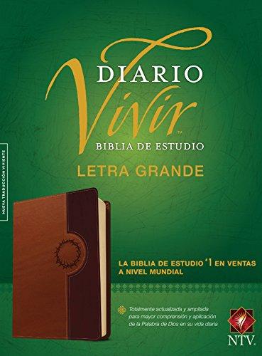 Biblia de estudio del diario vivir NTV, letra grande (Spanish Edition)