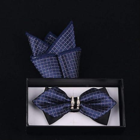 CEKINF Nuevo Diseño Bow Tie Imprimir Bowtie Pocket Sets Gravata ...