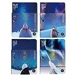 Mily Creative Sky Night Luminous Notebook Night Sky Journal Travel Diary Luminous Notepad Diary Book Student Gift