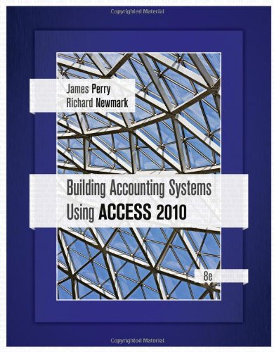 2010 System - Building Accounting Systems Using Access 2010